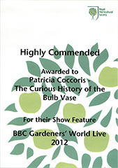 Highly Commended at the NEC