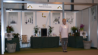 Patricia Coccoris - stand at the NEC 2012
